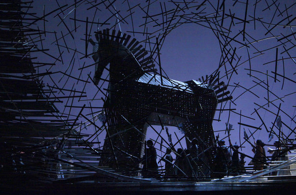 Berlioz' Les Troyens at the Metropolitan Opera, 2012.