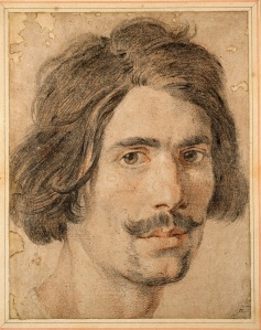 Gian Lorenzo Bernini (1598-1680)Self-Portrait, c. 1625-30Black and red chalk, heightened with white on brown paperAshmolean Museum of Art and Archaeology, Oxford