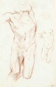 9. Bernini_Two Studies for the Daniel_Leipzig