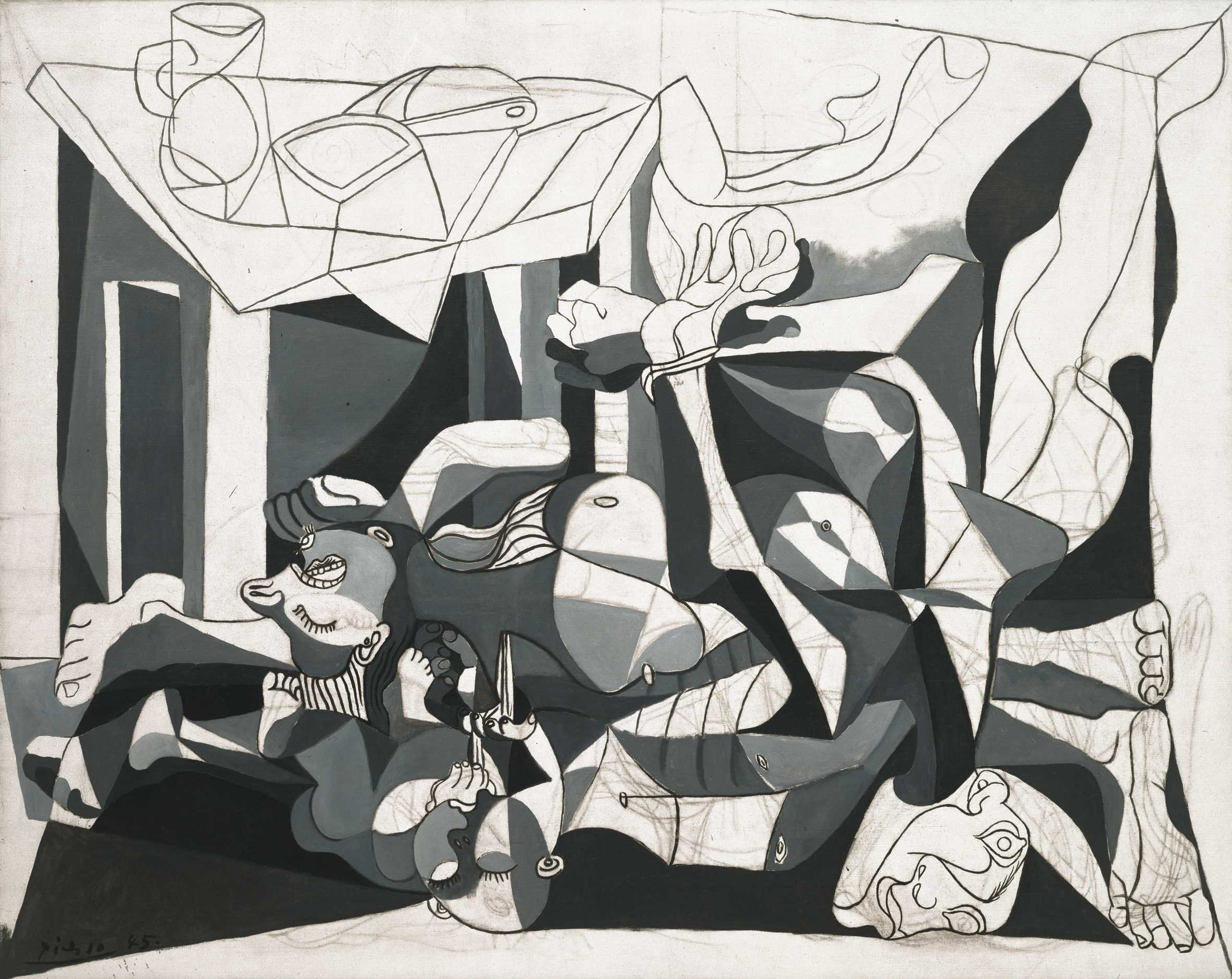 pablo picasso at mfa houston until the th culture spectator charnel pablo picasso